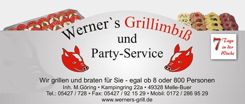 Werner's Grillimbiß und Partyservice - kontakt